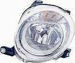 Fiat 500 2008-2015 Chrome Front Headlight Headlamp N/S Passenger Left