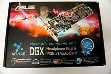 Asus Xonar DGX Headphone Amp & PCIE 5.1 Audio Card