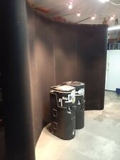 Trade Show 10 Pop Up Curved Wall Display With Shipping Case