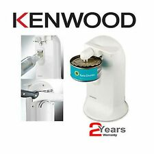 New Kenwood Electric Can Tin Bottle Opener Knife Sharpener 3-in-1 CO600 White