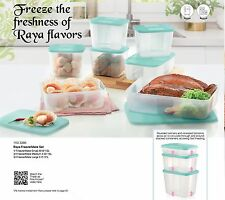 Raya FreezerMate Freezer Container Set (7) Tupperware