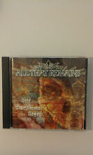 ALL THAT REMAINS - THIS DARKENED HEART -  CD