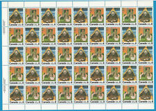 Canada Stamps 1976 8 Cent Scott* 695  No Complete Sheet 45 Canadian Authors
