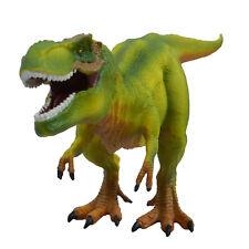 Large Tyrannosaurus Rex Solid Plastic Dinosaur Kids Toy Model Gift Green T-Rex