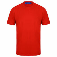 Mens T shirt Short Sleeve Crew Neck Casual Fit Quality Tee T-Shirt Gym Comfort