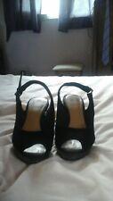 Clarks Wide fit Taille 6 Haut Compensé Chaussures excellent état