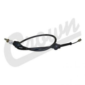 Accelerator Cable fits Jeep Wrangler YJ 1987-1990 52040430 Crown