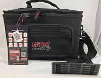 Gator - GM-4 - Microphone Bag Case with 4 Mics Drops