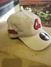 Atlanta Braves University of Mississippi Ole Miss Co-branded Hat