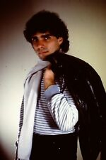 Handsome Young Man Holding Jacket Straight Out Of The 1980's 35mm Slide B26