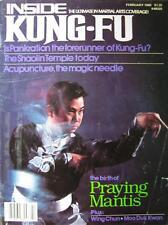 2/80 Inside Kung Fu Brendan Lai Praying Mantis Black Belt Martial Arts Wing Chun