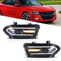VLAND Front Lamps LED Projector Headlights For Dodge Charger 2015 2016 2017 2018