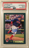 2001 Topps JIM THOME Signed Autographed Baseball Card PSA/DNA #15