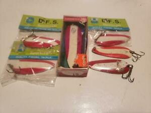 Dare Devil/Red Devil Fishing Lures -  6 Lures Total