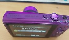 Canon IXUS 265 HS 16.0MP Digital Camera - Purple with WiFi & video recorder
