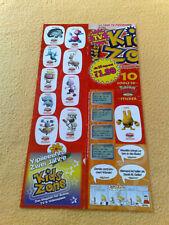Sticker Sammelsticker Anime Stickerbogen Pokemonsticker Kids Zone Seadraking