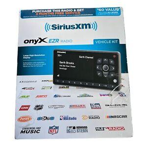 New SiriusXM Onyx EZR Satellite Radio Receiver with Vehicle Kit Black SXEZR1V1
