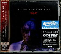 SLIPKNOT-WE ARE NOT YOUR KIND-JAPAN CD F04