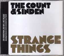 The Count & Sinden - Strange Things - Promo CDM - 2009 - House