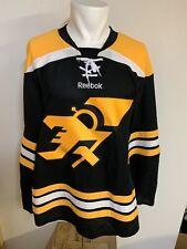 Rare Boston Bruins Jersey By Reebok Medium w/ 25poo Patch NWT Olson 18 NWT