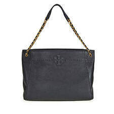 Tory Burch McGraw Slouchy Leather Tote - Black