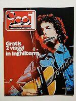 VERY RARE CIAO 2001 7-1974 BOB DYLAN - GENESIS - FAUST - JOHN CAGE - NOMADI