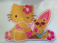 Sanrio Hello Kitty Large Magnet Hawaiian Surf