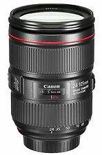 Canon EF 24–105mm f/4L IS II USM Lens, No Camera Lens Only, USA
