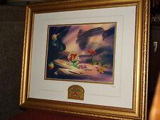 Disney Little Mermaid 10th Anniversary Framed Pin Set LE