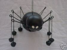 Large Jumbo Black Spider Jingle Bell Decoration ~ New Tender Heart Halloween