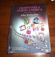 GEMSTONES OF NORTH AMERICA Vol. III Gem Gemstone Locations Jewels Jewel Book NEW