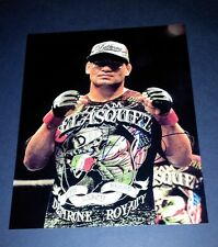 "CAIN VELASQUEZ PP SIGNED 10""X8"" PHOTO REPRO UFC MMA"