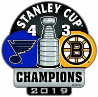 ST LOUIS BLUES - 2019 STANLEY CUP SCORE - LAPEL/HAT PIN - NHL-2613-PN-06