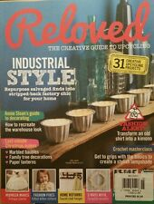 Reloved UK Industrial Style  Creative Upcycling Projects Dec 2014 FREE SHIPPING