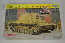 Dragon 6710 1/35 leFH18/40/2 (Sf) auf G.W. Pz.Kpfw.III/IV - Smart Kit