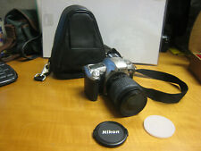 Nikon N75 35MM SLR Camera With Nikon Nikkor 28-80 Lens Tested Works Non OR Case