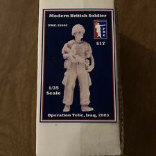 PMC 1/35 Modern British Soldier Operation Telic Iraq Figure Model Kit 35006