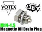 Stainless Steel Oil Drain Plug with NEODYMIUM Magnet (M14 x 1.5 X 12MM)