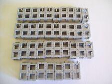 Rokenbok 1990's Light Grey 2 Square Blocks Building Block System Lot