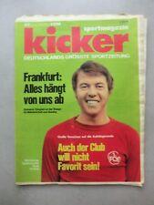 Kicker Sportmagazin Nr. 42 – 24.5.1971 FK Pirmasens 1 Seite Poster