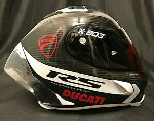 2021 X-lite X803RS Carbon Hot Lap Gratis Ducati Aufkleber & Visier Motorradhelm