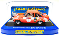 "Scalextric ""Cossack"" Ford Escort MK2 DPR W/ Lights 1/32 Scale Slot Car C3483"