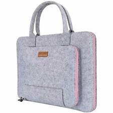 17.3 Laptop Sleeve Bag With Top Handle Carrying Notebook Case Portable Briefcase