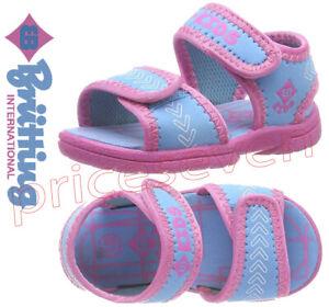 Brütting Sweety V Turquoise/Purple      Baby Girls Open Toe Sandals Mix Sizes