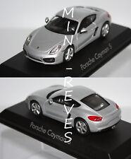 Norev Porsche Cayman S 2013 Silver 1/43 750036