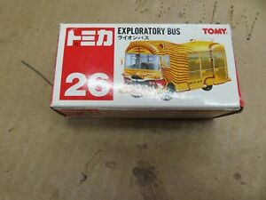 Vintage Tomica 1991 lion bus #26 Clean w/box 1:60 Scale