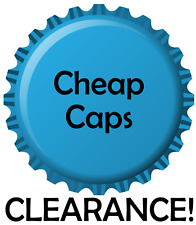 700 Home Brew Beer Caps CHEAP & FAST Pry or Twist Off Brewing