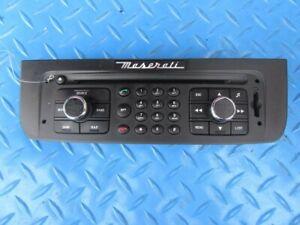 Maserati GranCabrio GranTurismo radio display control face plate #1048