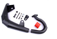 Side exhaust pipe Kit BLACK for 1/5 Losi 5ive T ROVAN LT RC CAR PARTS