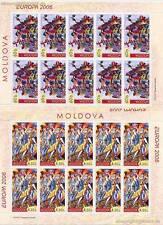 EUROPA CEPT 2006 INTEGRATION - MOLDAWIEN 549-50 KLEINBOGEN **